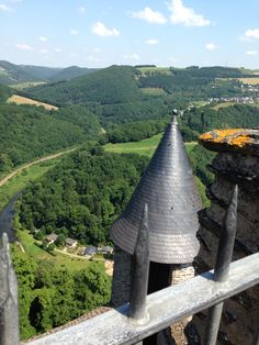 Bourscheid Castle overlooking the beautiful Luxembourg countryside. So gorgeous! #Trinamansfield