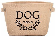Eco Dog Toy Storage Bag transitional-pet-toys