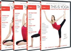Tara Stiles This is Yoga : 4 DVD Set : Complete Yoga Encyclopedia: Daily Yoga + Beginners Yoga + AM/PM Yoga + Complete Yoga Library for Everyone: Tara Stiles, Darren Capik: Movies & TV Yoga Fitness, Fitness Tips, Fitness Dvd, Workout Dvds, Workout Gear, Wednesday Workout, Yoga Exercises, Stretches, Yoga At Home