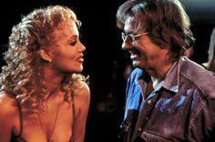 Paul Verhoeven and Elizabeth Berkley. Showgirls. 1995