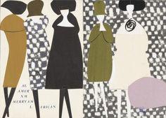 Lora Lamm for La Rinascente Italy 1959. Museum für Gestaltung.