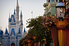 Fall In The Magic Kingdom by Jason M. Childs, via Flickr