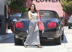 """Desperate Housewives"" actress Eva Longoria owns a Bentley Continental GTC."