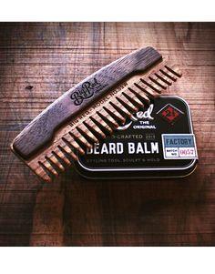 baume à barbe #soin #maintien #senteur #homme #hipster #cadeau #bigredbeardcomb #lamaisondelonclesam #canada #peigne