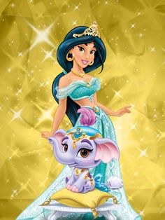 Jasmine and Taj by unicornsmile