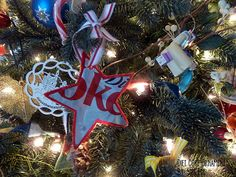 How to make a recycled can Christmas ornaments and recycled sweater bottle scarves · Recycled Crafts   CraftGossip.com