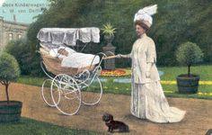 Van Delft ontving op 28 juni 1909 het predicaat hofleverancier. Bij gelegenheid van de verlening van het predicaat bracht de firma een gekleurde ansichtkaart uit met als voorstelling koningin Wilhelmina met prinses Juliana in een kinderwagen van Van Delft.