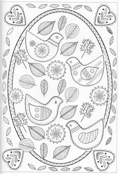 Scandinavian Coloring Book Pg 33