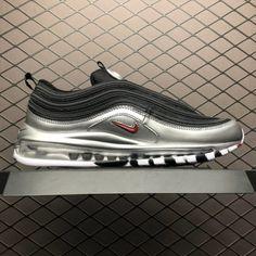76c9d46b2 Nike Air Max 97 QS  B-Sides Metallic Silver  Black Silver AT5458-001