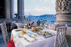 Breakfast at Ciragan Palace Kempinski Istanbul