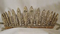 Royal Jewels of the World Message Board-Liechtenstein Fringe Tiara-once owned by Princess Maria Theresa of Braganza, wife of Archduke Karl Ludwig of Austria.  It was worn by Princess Marie Aglae of Liechtenstein on her wedding day, 1967.
