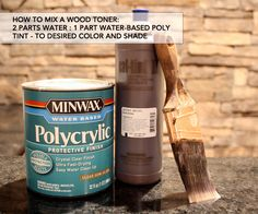 Finishing Tutorial: How To Use Glaze and Wood Toner