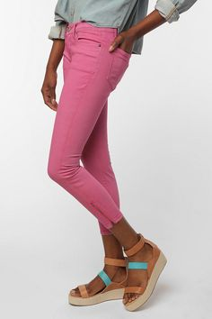 BDG Overdyed Railroad Jean - Pink