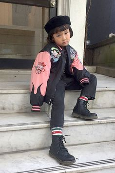 No seriously, this cool 7-year-old is my style icon. See all the enviable outfits this rising Japanese street style star wears.