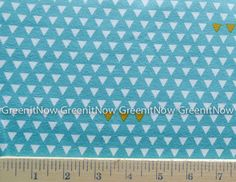 Jersey Knit Four Corners Triangle Teal in by AAShippingSupplies