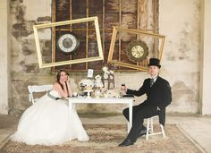 Alice in Wonderland wedding ideas // photo by White Willow Photography