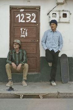Lookbook Levis Skateboarding (Fall 2014)