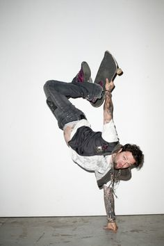 Bam Margera. I will someday photography this man... mark my words! Love this picture!!! <3 He's so beautiful!