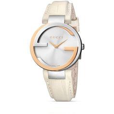 Gucci Interlocking 18k Pink Gold & Stainless Steel Watch, 37mm