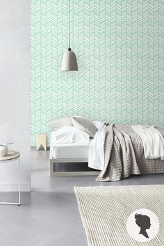 Herringbone Pattern Self Adhesive Vinyl Wallpaper D197 door Livettes