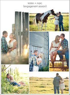 Just For You Photography featured on I Love Farm Weddings blog - classic farm engagement session