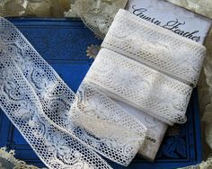 Vintage French Valenciennes Insertion Lace Antique by GypsyFeather