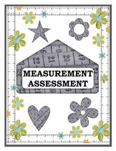 Measurement Assessment CCSS