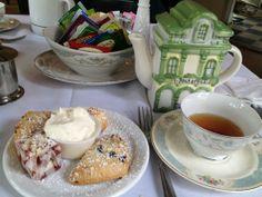 High tea dessert MItties on Main in Alpharetta!