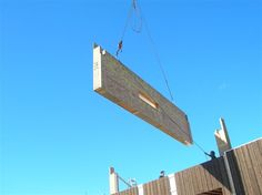 Faster on-site assembly was one advantage of panelized wall and roof components, a real benefit given the city's short construction season.