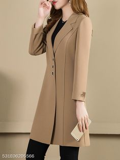 Trench Coat Outfit For Spring - FashionActivation Trench Coat Outfit, Coat Dress, Trench Coats, Hijab Fashion, Fashion Outfits, Fashion Coat, Mode Mantel, Coats For Women, Clothes For Women