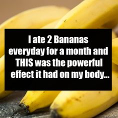 I ate 2 Bananas everyday for a month and THIS was the powerful effect it had on my body. Heartburn Symptoms, Eating Bananas, Regulate Blood Sugar, One Banana, Heart Healthy Recipes, Banana Recipes, Healthy Fruits, Everyday Food