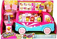 Besides the 2-packs, 5-packs and 12-packs, there are various playsets that you can get, all with exclusive Shopkins you can only get in the playsets: EASY SQUEEZY FRUIT & VEG STAND (Season 1) This...