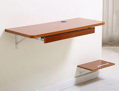 LXF Table murale rabattable en bois Ordinateur Bureau Table de travail Table d'apprentissage Montage mural (Couleur et taille en option) ( Couleur : E , taille : 120*40cm ): Amazon.fr: Cuisine & Maison