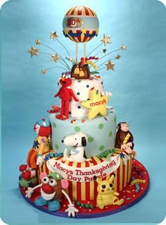 Macy's Thanksgiving Day Parade Cake