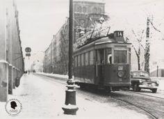 Świerczewskiego Street, now Radwańska Street. Foto 1962.