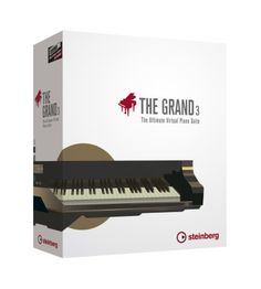 Steinberg The Grand Virtual Grand Piano (Mac and Windows): Built to replicate the sounds of the world's finest grand pianos, this software also includes 60 high-quality reverb presets to simulate any environment.