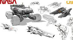 CONCEPT SKETCH 03 by ANTARKTIK Sanchez Gary | Sci-Fi | 2D | CGSociety