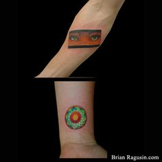 I always loved her eyes in that shot (O'ren Ishii). Kill Bill (and a mandala wrist tattoo! Arm Tattoos, I Tattoo, Mandala Wrist Tattoo, Kill Bill, Pisces, Body Art, Eyes, Creative, Fish