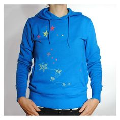 "Hoodie ""catch the stars"" made out of organic cotton"