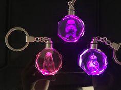 >> Click to Buy << Keychain Darth Vader Star Wars Yoda Keychains Anakin Skywalker Figure Key Ring Crstal LED BB8 Key chain #Affiliate