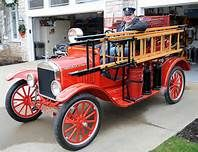 1923 - FORD Old Fire Trucks -