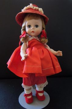 Madame Alexander Wendy-Kins Doll 1964-65 BNW #MadameAlexander #DollswithClothingAccessories