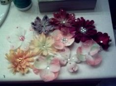 Fake Flowers | so many things to do with these.