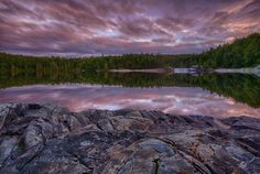 Sunset on the Pukaskwa Coastal Trail in Ontario, Canada. 7 Continents, Beauty Around The World, Beautiful Landscapes, Ontario, Coastal, Trail, Sunrise, Beautiful Places, Places To Visit