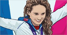 camille muffat medaille or olympique #JO2012 #London