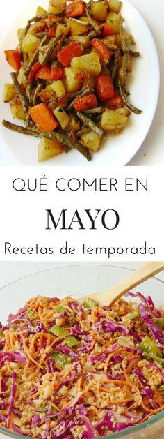 Qué comer en mayo | Recetas de temporada