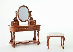 IGMA artisan, Cristina Noriega of Spain, designs fine furniture in 1:12 miniature scale.