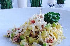 Zucchini-Carbonara Chefkoch.de