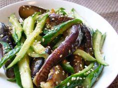 冷やしなすときゅうりの中華風サラダの画像