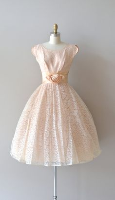 vintage 1950s dress #retro #vintage #feminine #designer #classic #fashion #dress #highendvintage